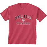New World Graphics Men's University of Alabama Local Phrase T-shirt