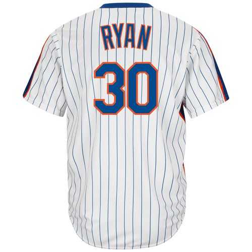 Majestic Men's New York Mets Nolan Ryan #30 Cool Base Cooperstown Jersey