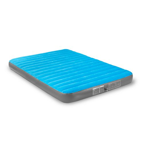 Air Comfort Camp Mate Queen-Size Air Mattress with Battery-Powered Pump