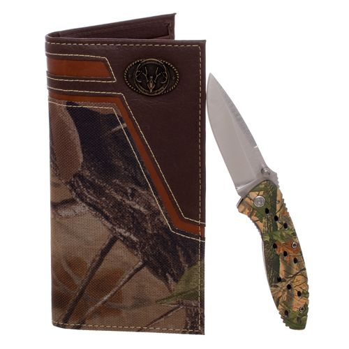 Magellan Outdoors™ Men's Secretary Wallet and Folding Knife Set