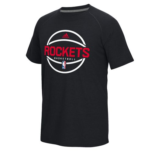 adidas Men's Houston Rockets New Ball Graphic T-shirt