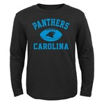 NFL Boys' Carolina Panthers Long Sleeve T-shirt