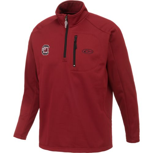 Drake Waterfowl Men's University of South Carolina BreathLite 1/4 Zip Pullover - view number 1