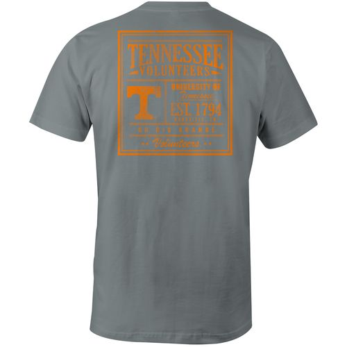 Image One Men's University of Tennessee Vintage Poster Comfort Color T-shirt