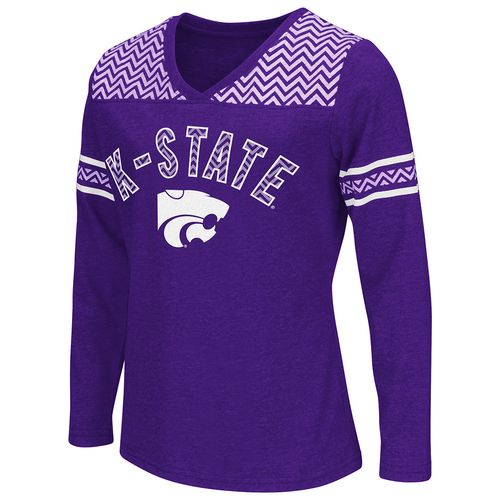 Colosseum Athletics™ Girls' Kansas State University Cupie Long Sleeve Shirt