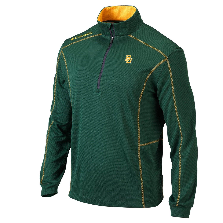 Columbia Sportswear™ Men's Baylor University Shotgun 1/4 Zip