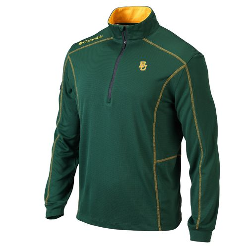 Columbia Sportswear™ Men's Baylor University Shotgun 1/4 Zip Pullover