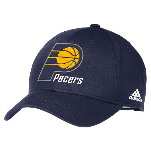 adidas™ Men's Indiana Pacers Structured Adjustable Cap