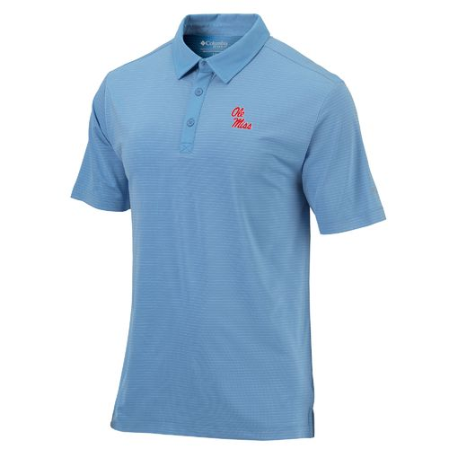 Columbia Sportswear Men's University of Mississippi Sunday Polo Shirt - view number 1