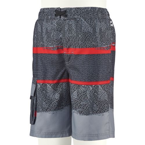 O'Rageous Boys' Abstract Splash E-boardshort