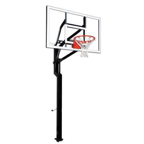 Goalsetter Signature Series All-American 60 in Inground Tempered-Glass Basketball Hoop