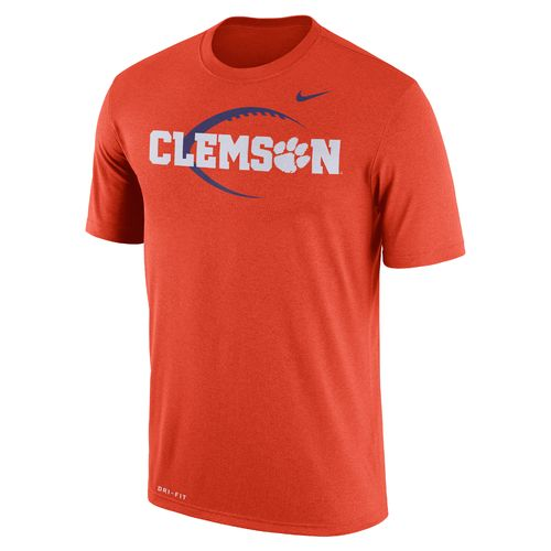 Nike Men's Clemson University Dri-FIT Legend Icon 17 T-shirt