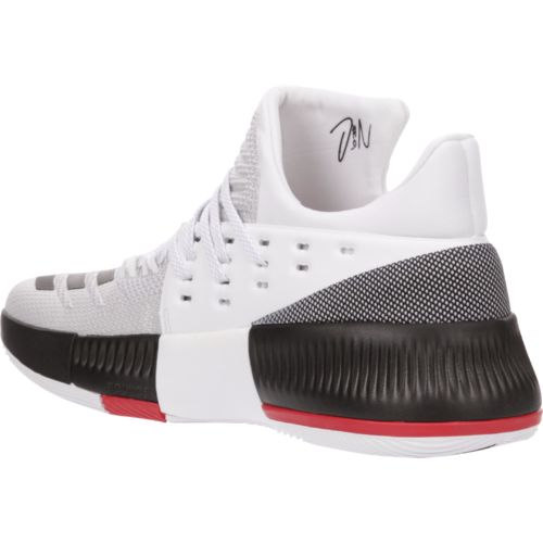 adidas Men's Dame 3 Rip City Basketball Shoes - view number 3