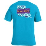 Image One Women's Louisiana State University Pattern Scroll State T-shirt - view number 1