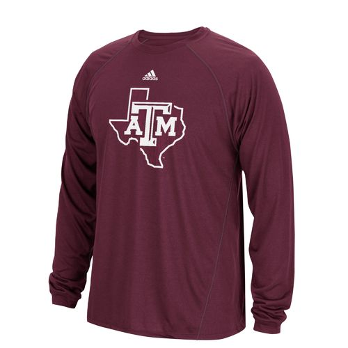 adidas Men's Texas A&M University Sideline Spine T-shirt