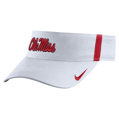 Nike Men's University of Mississippi AeroBill Sideline Visor - view number 1