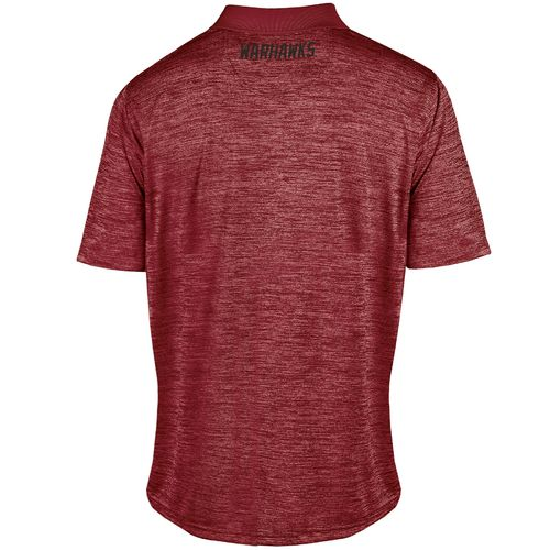 Champion™ Men's University of Louisiana at Monroe Synthetic Colorblock Polo Shirt - view number 2