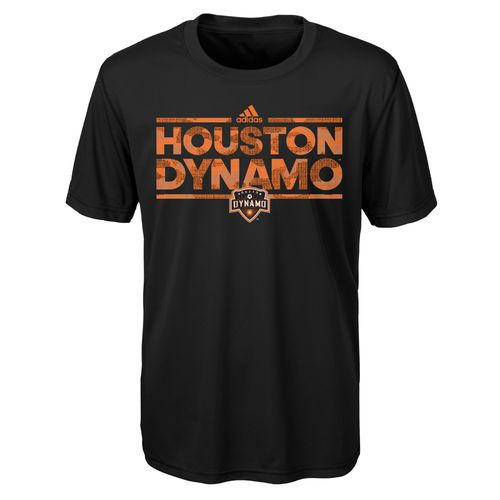 adidas Boys' Houston Dynamo climalite Dassler Tactical T-shirt