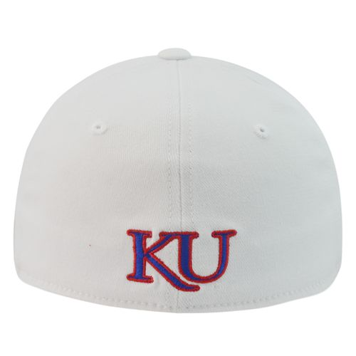 Top of the World Adults' University of Kansas Premium Collection M-F1T™ Cap - view number 2