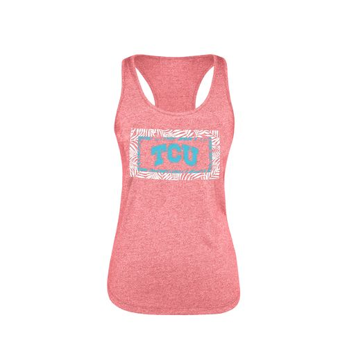 Chicka-d Women's Texas Christian University Spirit Tank Top