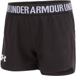 Under Armour Girls' Solid Play Up Short - view number 3