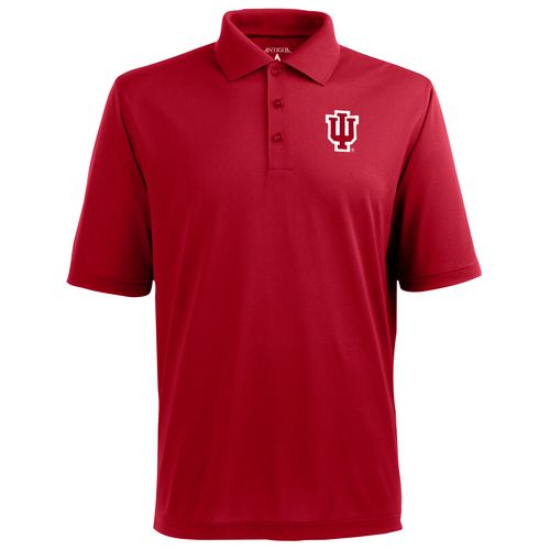 Antigua Men's Indiana University Pique Xtra-Lite Polo Shirt - view number 1