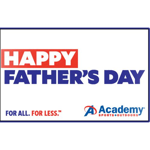 Happy Father's Day Academy Gift Card