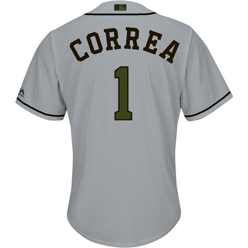 Majestic Men's Houston Astros Carlos Correa Memorial Day COOL BASE Jersey