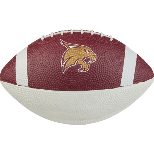 Rawlings™ Texas State University Hail Mary Youth-Size Rubber Football - view number 1