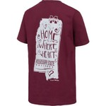 New World Graphics Girls' Mississippi State Where the Heart Is Short Sleeve T-shirt - view number 3