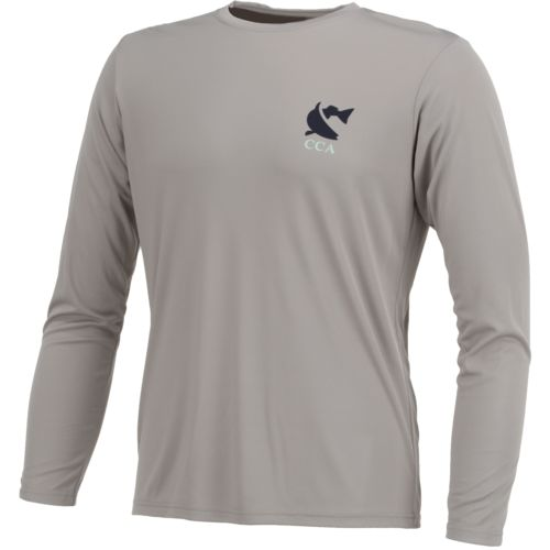 CCA Men's Performance Letter Logo Long Sleeve T-shirt - view number 3
