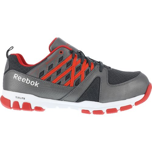 Reebok Men's SubLite Electric Hazard Steel Toe Work Shoes