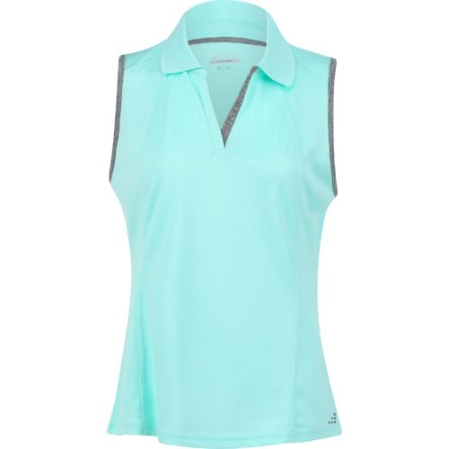 BCG Women's Sleeveless Tennis Polo Shirt