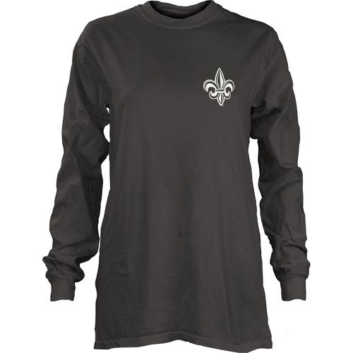 Three Squared Juniors' University of Louisiana At Lafayette Tower Long Sleeve T-shirt - view number 2