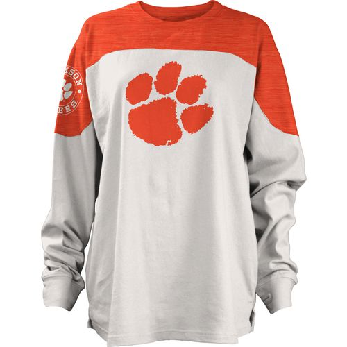 Three Squared Juniors' Clemson University Cannondale Long Sleeve T-shirt