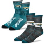 For Bare Feet Men's Jacksonville Jaguars Father's Day Socks - view number 1