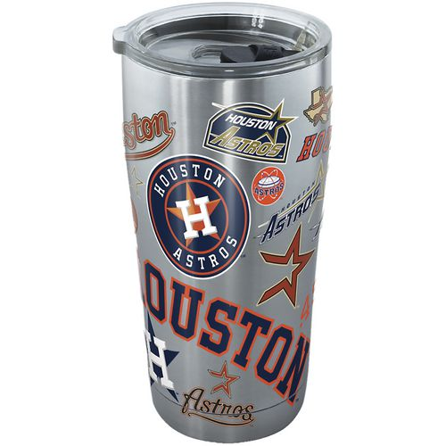 Tervis Houston Astros All Over 20 oz Stainless-Steel Tumbler