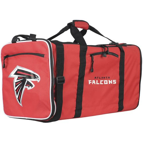 The Northwest Company Atlanta Falcons Steel Duffel Bag - view number 1
