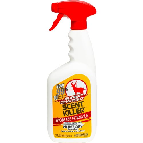 Display product reviews for Wildlife Research Center® Super Charged® Scent Killer® 24 fl. oz. Scent Eliminator