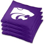 Wild Sports Kansas State University Beanbag Set - view number 1