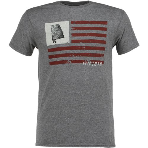 Display product reviews for State Love Men's Alabama American Flag Short Sleeve T-shirt