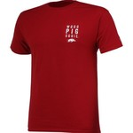 Champion Men's University of Arkansas 2017 Football Fan T-shirt - view number 3
