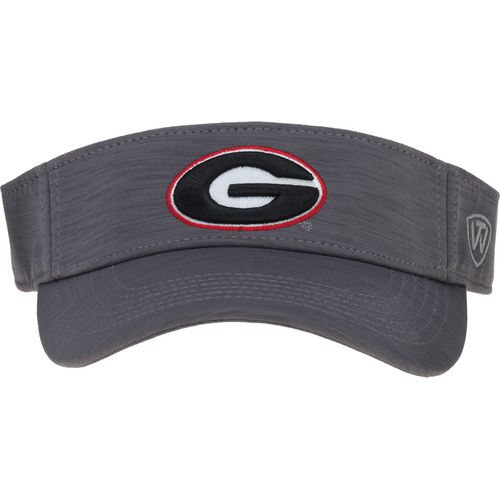 Top of the World Men's University of Georgia Upright Visor
