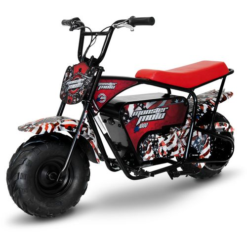 Display product reviews for Monster Moto American Flag 1000 W Electric Mini Bike