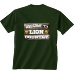 New World Graphics Men's Southeastern Louisiana University Welcome Sign T-shirt - view number 1