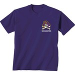 New World Graphics Women's East Carolina University Comfort Color Puff Arch T-shirt - view number 2