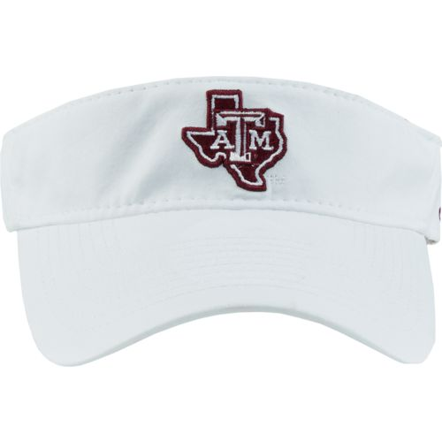 adidas Men's Texas A&M University Coach Adjustable Visor - view number 1