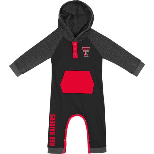 Colosseum Athletics Infant Boys' Texas Tech University Truffle Ruffle Onesie