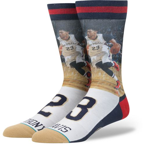 Stance Men's New Orleans Pelicans Anthony Davis Future Legends Crew Socks