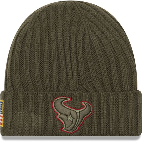 New Era Men's Houston Texans Salute to Service '17 Knit Cap